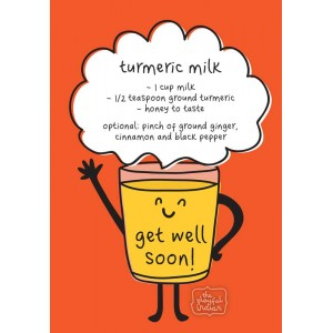 Turmeric Milk - Get Well Soon