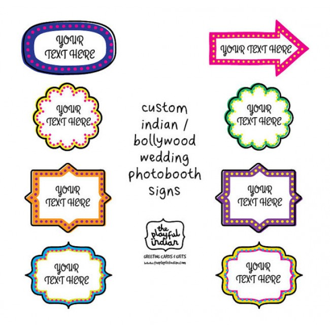 image about Printable Props known as Bollywood Night time/Marriage, Indian Concept Printable Image Booth