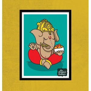 Ganesh A5 Print