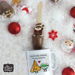 Mug & Hot Chocolate Santa Spoon Gift Set