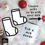 Mug, & Socks Gift Set