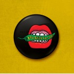 Too Spicy For You - 45mm Pin Badge/Pocket Mirror/Fridge Magnet/Keyring