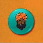 Mr Singh - 45mm Pin Badge/Pocket Mirror/Fridge Magnet/Keyring