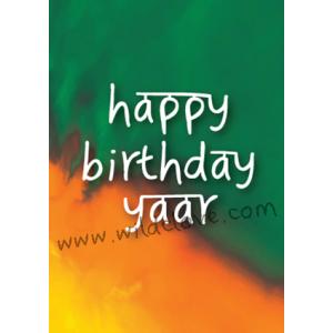 Happy Birthday Yaar
