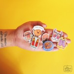 Playful Indian Character Brooches