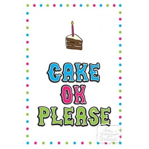 Cake OK Please