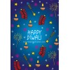 Diwali Fireworks Card