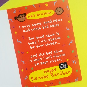 Good News & Bad News - Happy Raksha Bandhan