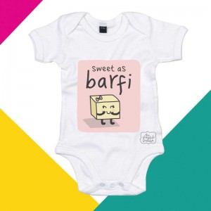 Sweet As Barfi - Babygrow