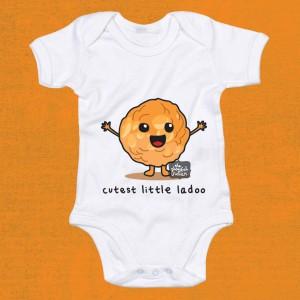 Cutest Little Ladoo Babygrow