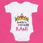 Daddy's Little Rani Babygrow