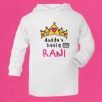 Daddy's Little Rani Lightweight Hoodie