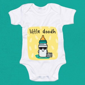 Little Doodh Babygrow