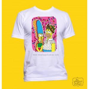 Desi Simpsons Unisex T-Shirt