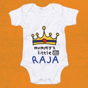Mummy's Little Raja Babygrow
