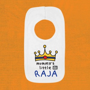 Mummy's Little Raja Pullover Bib