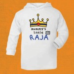 Mummy's Little Raja Lightweight Hoodie