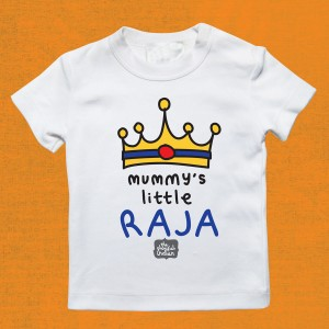 Mummy's Little Raja T-Shirt