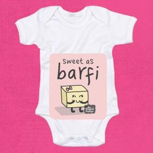 Sweet As Barfi - Babygrow