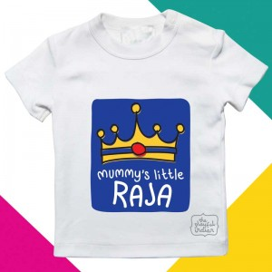 Mummy's Little Raja - Kids/Baby T Shirt