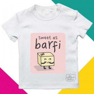 Sweet As Barfi - Kids/Baby T Shirt