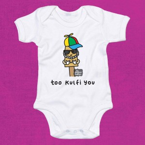 Too Kulfi You Babygrow
