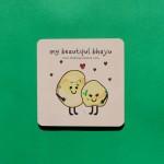 My Beautiful Bhajiu Coaster - Single