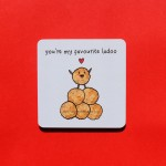 You're My Favourite Ladoo Coaster - Single