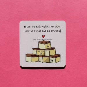 Sweet As Barfi Coaster - Single