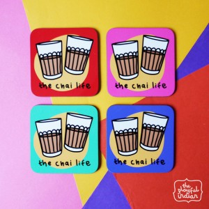 The Chai Life Coaster Set