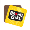Brown Girl Coaster