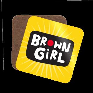 Brown Girl Coaster