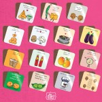 Hungry Indian Range Food Pun Coasters - Singles