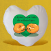 Valentine's Day Heart-Shaped Cushion