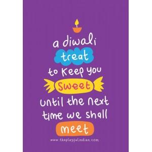 A Sweet Treat Diwali Card