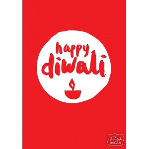 Happy Diwali - Red