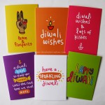 Bright & Modern Diwali Cards (6pk)