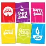 Neon Diwali Cards (6pk)
