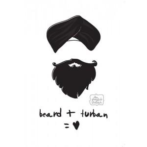 Beard + Turban