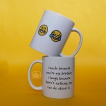 Raksha Bandhan Gift - I Smile Because You're My Brother Mug