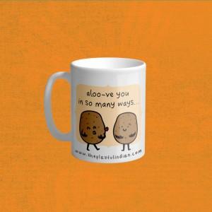 Aloo-ve You Mug