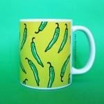 Green Chilli Mug