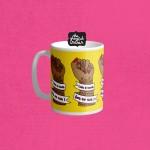 Life Is Tough Mug