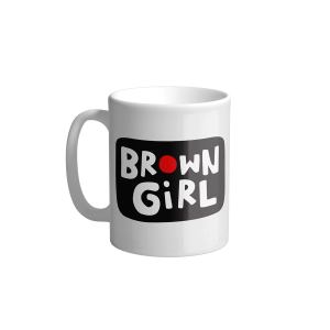 Brown Girl Mug