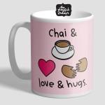 Chai & Love & Hugs Mug