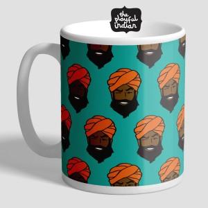 Happy Sikh Man Mug