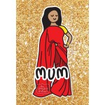 Emoji Lady In Sari - Mum