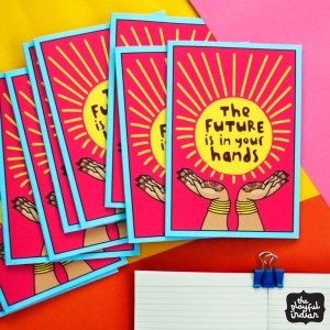 The Future Is In Your Hands Notebook
