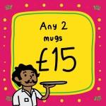 Any 2 Mugs