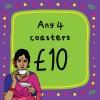Any 4 Coasters
